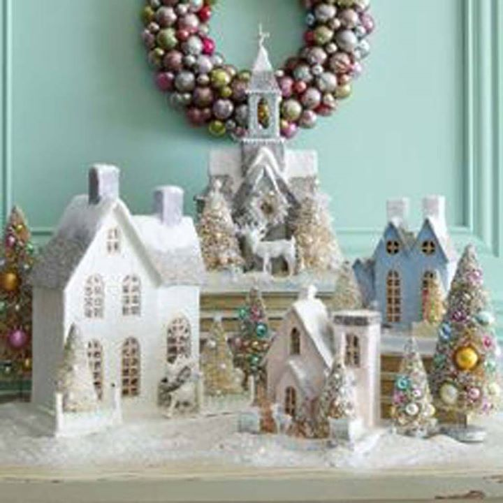 Ceramic Christmas Houses