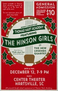 Bluegrass band The Hinson Girls