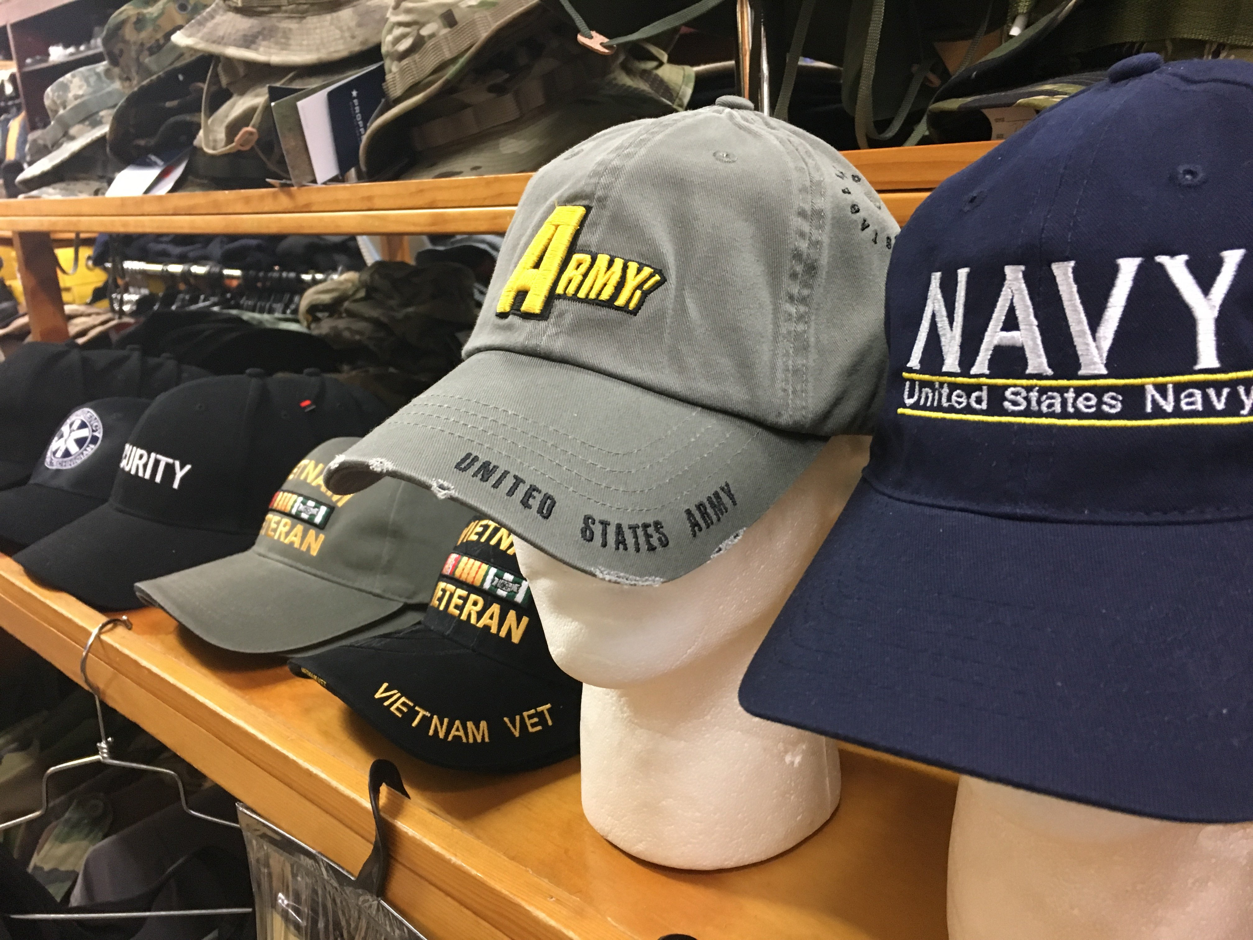 Items at Hartsville Army Navy