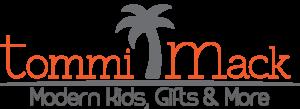 The logo for Tommi Mack children's boutique.