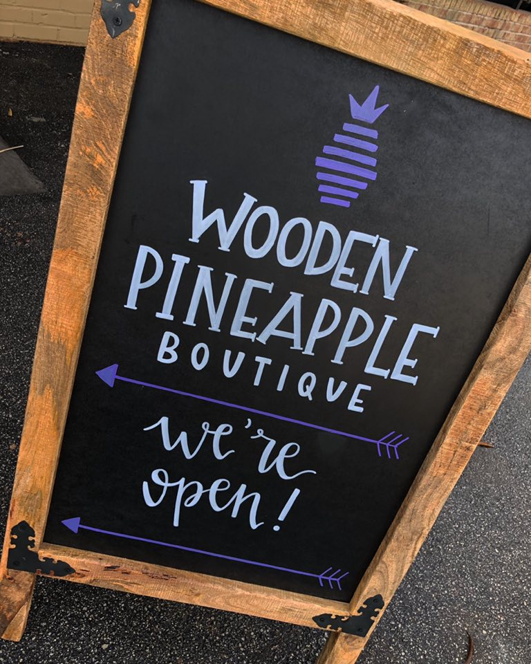 Wooden Pineapple Boutique