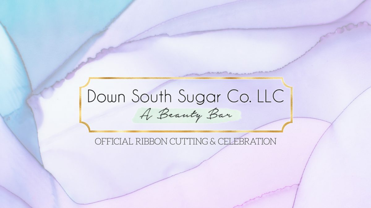 Watercolor banner image featuring the Down South Sugar Co. logo.