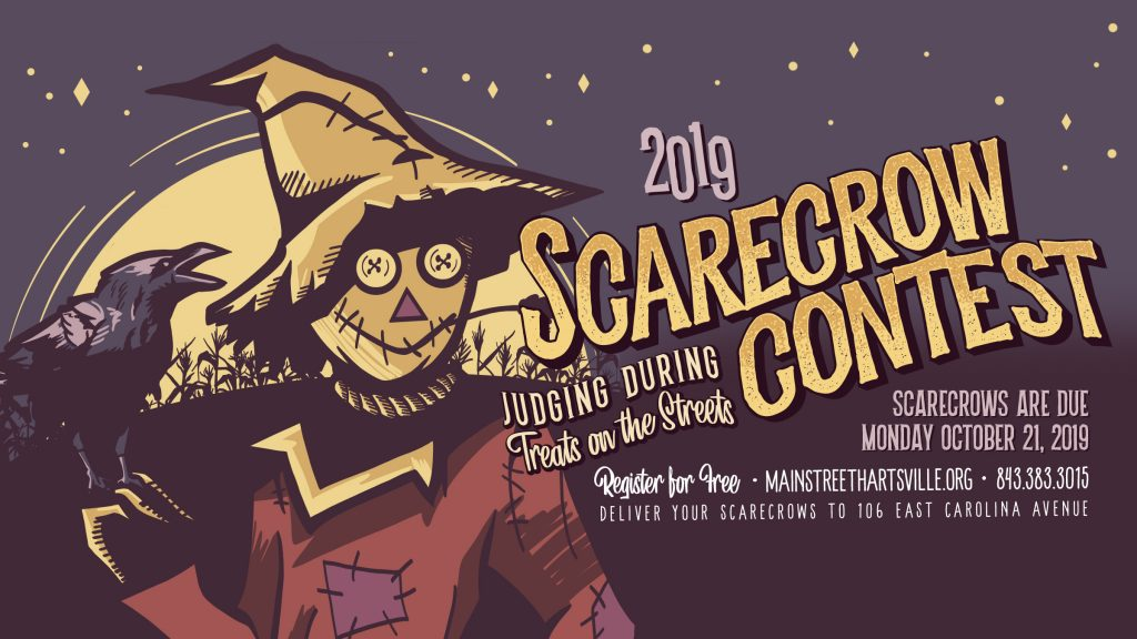 Banner image for the 2019 Scarecrow contest