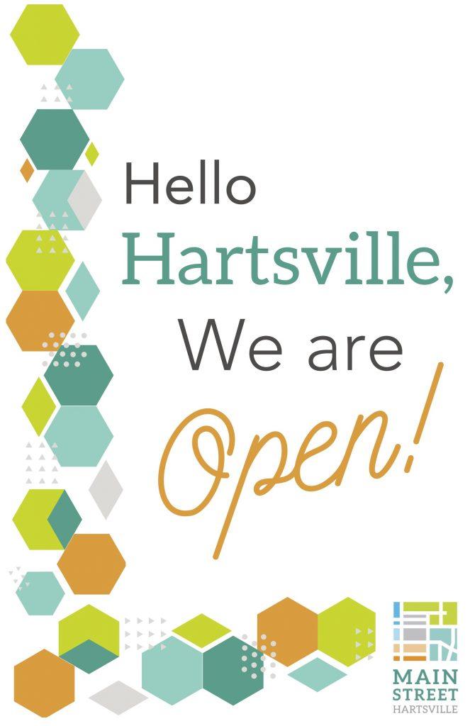 Hello Hartsville, we are open!