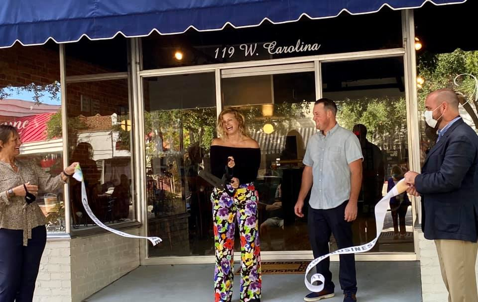 Ribbon Cutting at Maxyne's in downtown Hartsville.