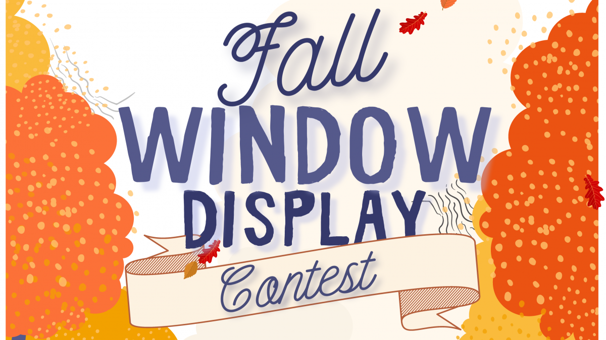 Fall Window Display Contest